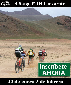 4 Stage mountain bike race Club La Santa Lanzarote