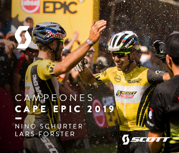 Scott gana la Cape Epic