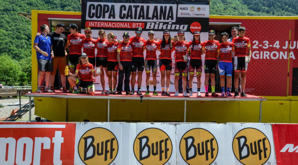 David Rosa gana la última carrera de la Copa Catalana Internacional de BTT Biking Point