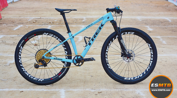 Bicis de los pro: la Trek Procaliber Race Shop Limited de Emily Batty