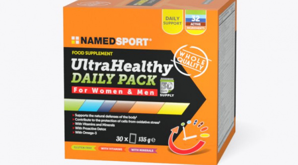 Refuerza tu cuerpo con NamedSport Ultra Healthy Daily Pack