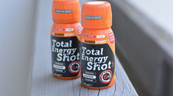"Total Energy Shot, la ""bomba"" de NamedSport con cafeína, taurina y guaraná"