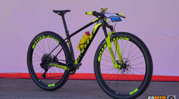 Bicis de los Pro: Scott Scale RC 900 World Cup de Francesc Guerra