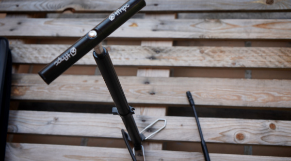 Bomba de pie portátil (y desmontable) TFHPC Travel
