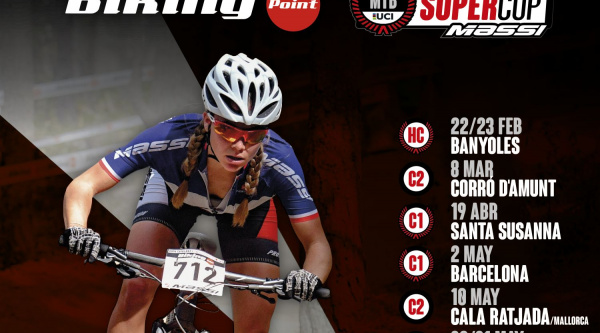 Calendario de la Copa Catalana Internacional Biking Point y Super Cup Massi 2020