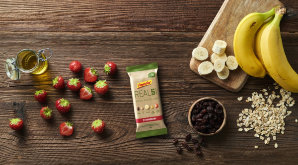 REAL5, la nueva Vegan Energy Bar de PowerBar