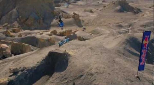 Vídeo Paul Basagoitia y su increíble doble backflip en MTB