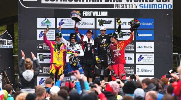 Noticia ciclismo MTB/BTT: Aaron Gwin imparable en Fort William