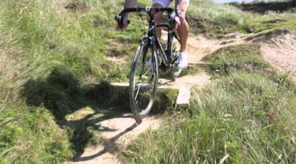 """Como se hizo el """"lo que se puede hacer con una bici de carretera"""""""