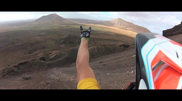 Vídeos: los hermanos Samson en Fuerteventura
