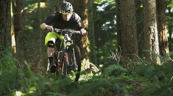 Matt Hunter es el Trail Hunter
