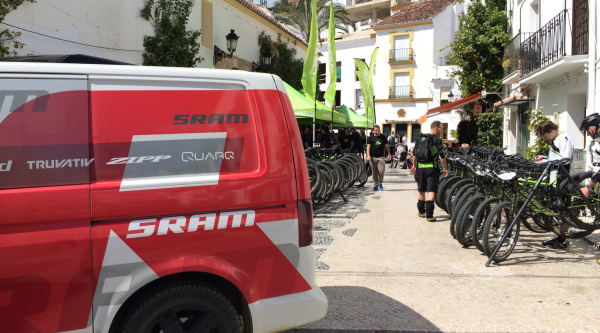 Noticia ciclismo MTB/BTT: Novedades en el paddock del Cannondale Big Ride powerade by Sram 2015