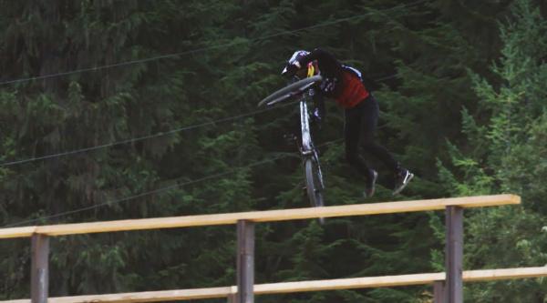 Brandon Semenuk y la mejor actuación en un slopestyle