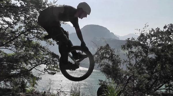 Freeride y DH sobre un uniciclo