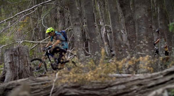 Aventura biker en Chile con el nuevo Shimano XT