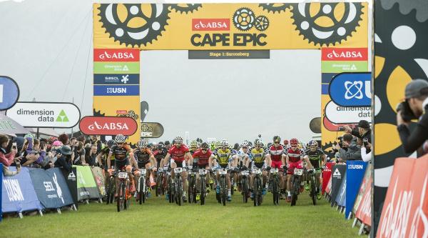 Salida de la Cape Epic