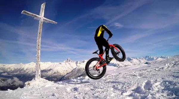 Fat bike, nieve y buenas manos