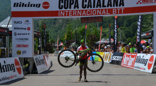 Noticia ciclismo MTB/BTT: Vlad Dascalu sorprende en la final de la Copa Catalana Internacional Biking Point