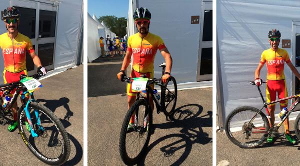 Nuestros bikers olímpicos