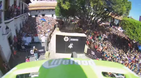Noticia ciclismo MTB/BTT: La loca bajada ganadora del City Downhill World Tour Taxco