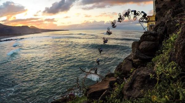 Cuando hasta Danny MacAskill tiene miedo, así grabó su salto al mar