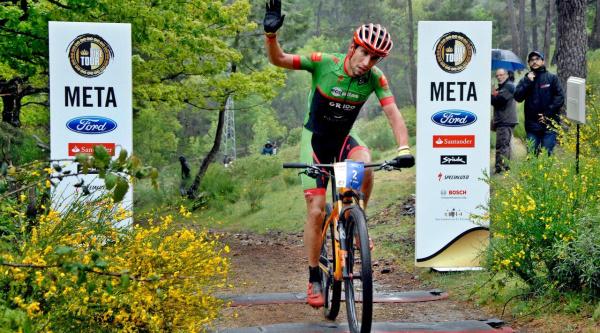 Pedro Romero, ganador de la etapa