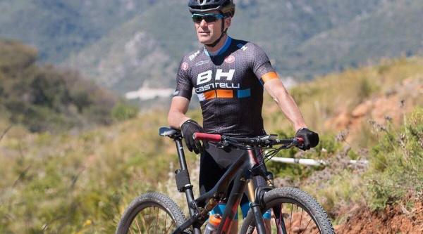 Ortiz con la BH Lynx Race Carbon