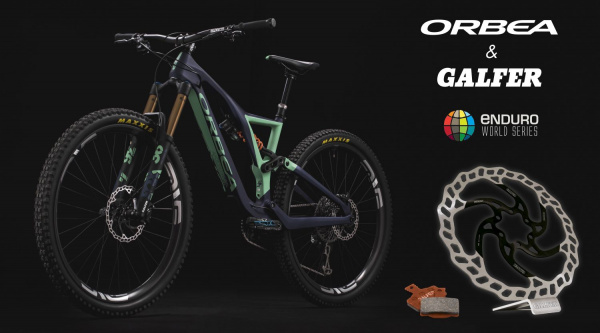 Orbea y Galfer en las Enduro World Series