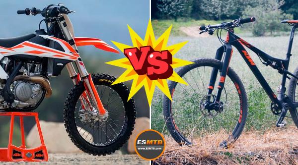 Una moto contra un bici. ¿valen lo mismo?