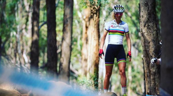Jolanda Neff en Stellenbosch