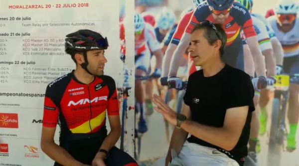 Conocer el circuito del Campeonato de España de Moralzarzal con David Valero