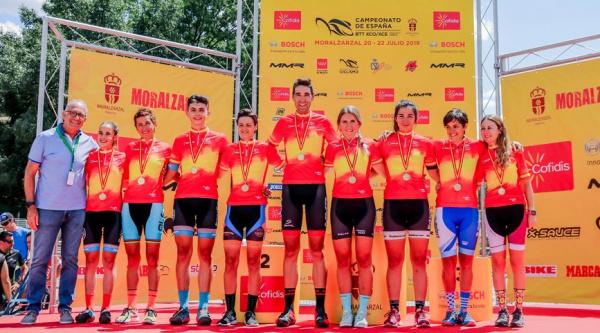 Campeones de España de XCO