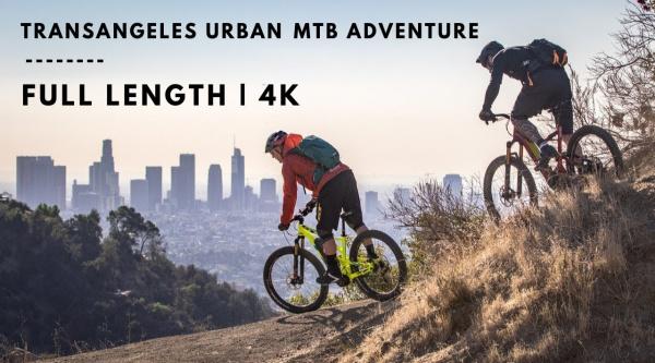 [Vídeo] Hans Rey te muestra los senderos que rodean Los Angeles en TransAngeles Urban MTB Adventura