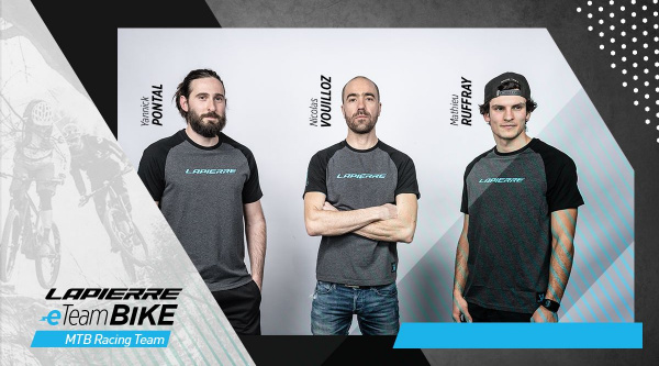 Equipo Lapierre E-Team Bike
