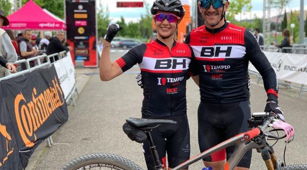 Los líderes de La Rioja Bike Race
