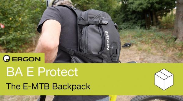 Ergon BA2 E Protect, la mochila específica para ebikes