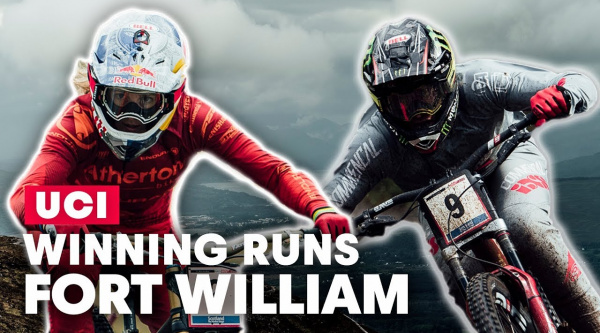 [Vídeo] Las bajadas ganadoras de Amaury Pierron y Rachel Atherton en Fort William 2019