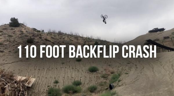 [Vídeo] Un backflip gigante y una caída de más de 30 metros con Cam Zink
