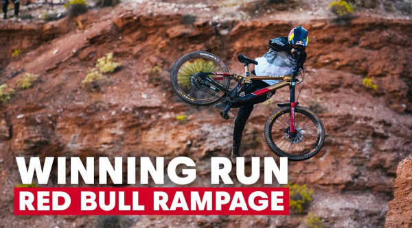 La bajada ganadora de Brandon Semenuk en el Red Bull Rampage