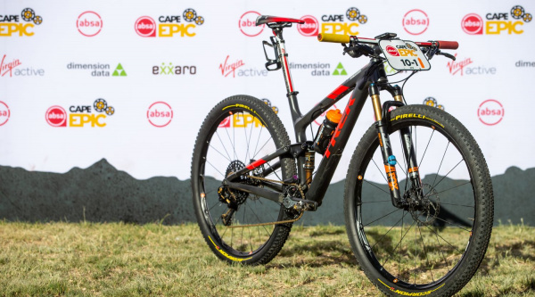 Trek Top Fuel que usaron en la pasada Absa Cape Epic