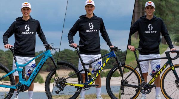 Jorge Prado y la Scott Spark RC Team Issue AXS