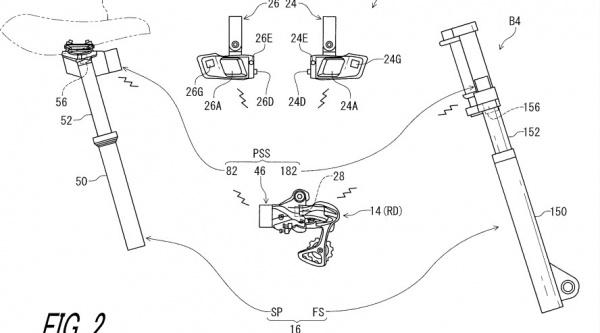 Patente de Shimano
