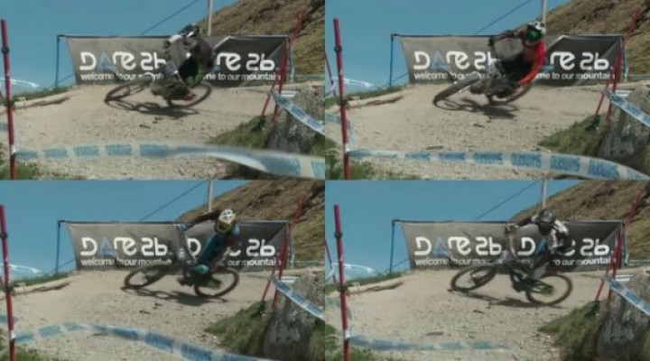 Vídeo comparativa estilo rider fantasma en Fort William
