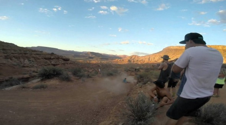 Red Bull Rampage: brutal caída de Kelly McGarry