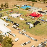 The race village during stage 1 of the 2013 Absa Cape Epic Mountain Bike stage race held from Citrusdal, South Africa on the 18 March 2013  Photo by Greg Beadle/Cape Epic/SPORTZPICS
