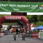 Finish Stage 2 CRAFT BIKE TRANSALP 2010 powered by NISSAN