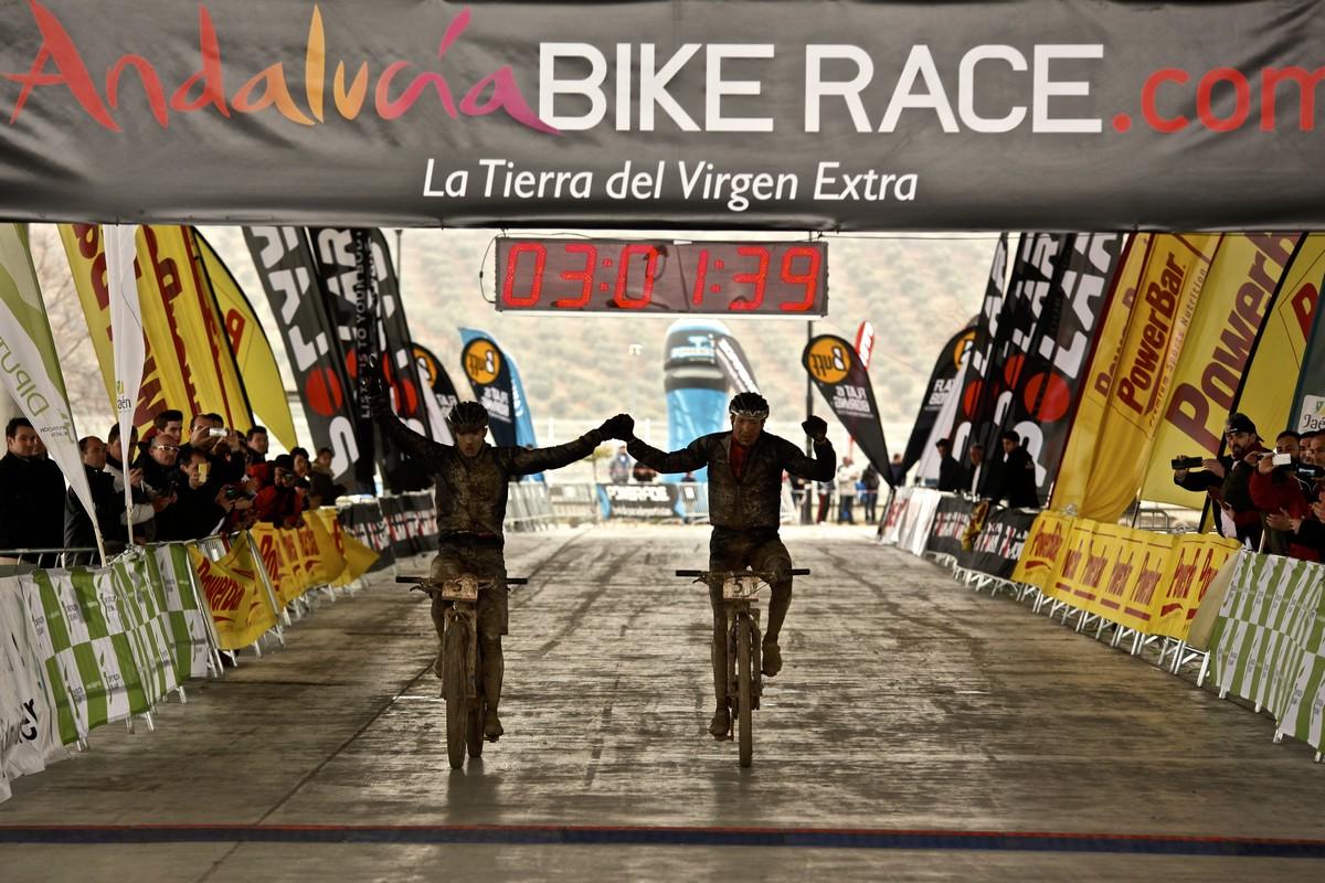 Una de las etapas que tuvieron llegada en Jaén