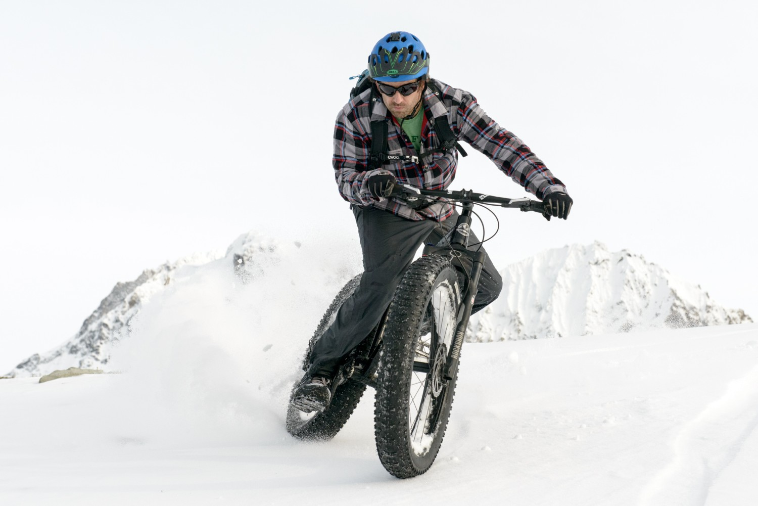 Fat bike, en su habitat natural
