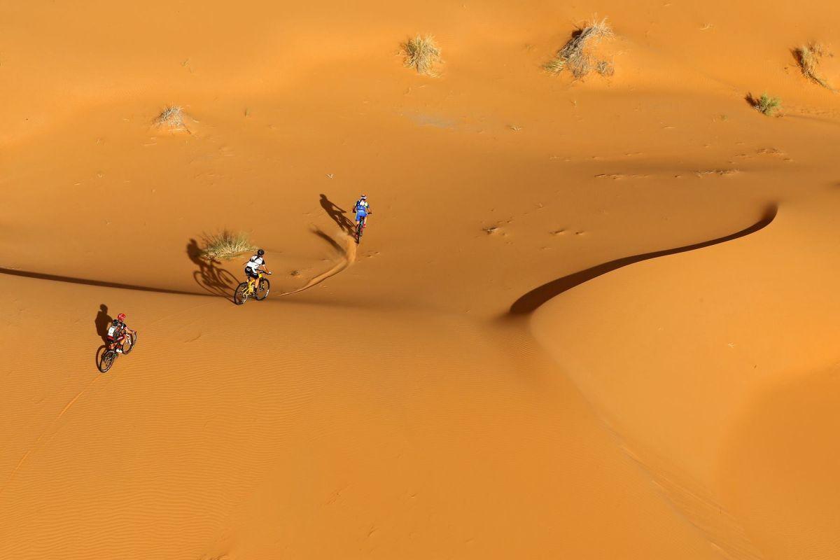 El desierto en la Titan Desert