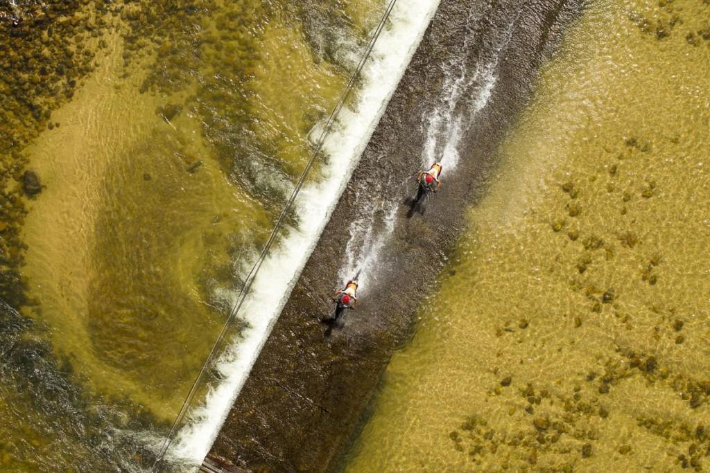 Langvad y Kleinhans controlan la general. Van camino de ser mitos del Absa Cape Epic. Foto Gary Perkin/Cape Epic/SPORTZPICS